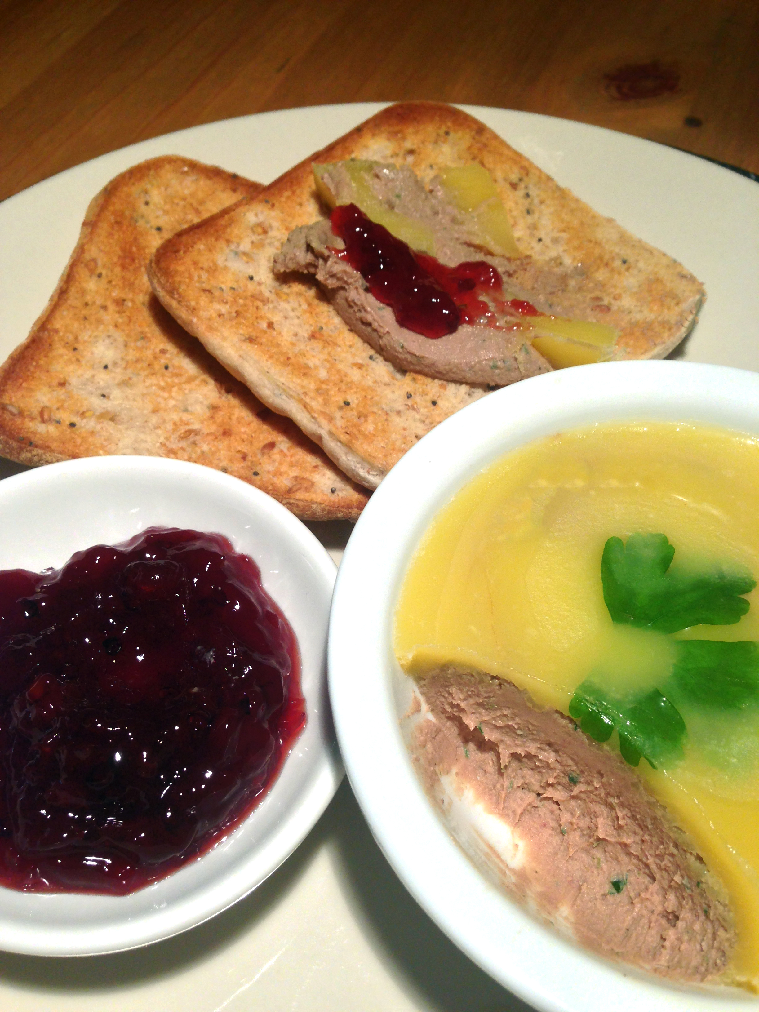 Chicken liver pate with brandy | The Glasgow Scullery